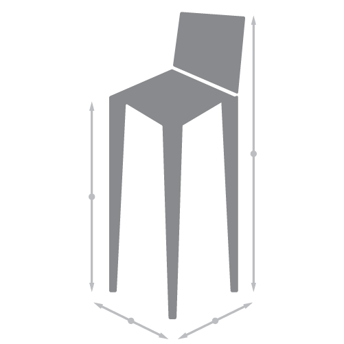 Bar Stool Dimensions